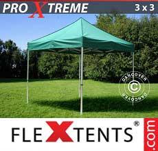 Tenda per racing Xtreme 3x3m Verde
