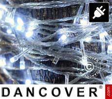 Catena di luci LED, 25m, Multifunzione, Bianco