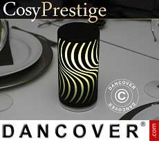 Lampada a LED Zigzag, serie Prestige, Nera