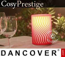 Lampada a LED Zigzag, serie Prestige, Rossa