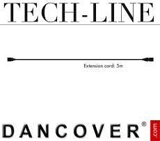 Cavo di estensione senza presa di corrente Tech-Line, 5m
