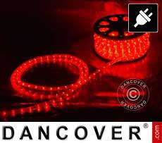 Striscia luminosa a LED 25 m, Ø 1,2cm, Multifunzione, Rosso