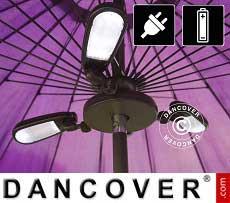 Lampada per ombrellone Luxor, 30 LED
