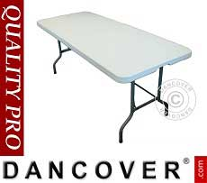 Tavolo banchetto 200x90x74cm, Grigio chiaro (1 pz.)