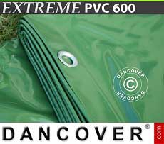 Telo 8x14m PVC 600g/m² Verde