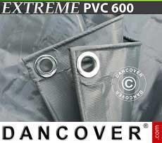 Telo 6x8m PVC 600g/m² Grigio