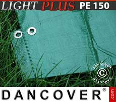 Telo 6x8m PE 150 g/m² Verde