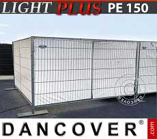 Telo barriera 1,8x3,4m PE 150 g/m² Bianco