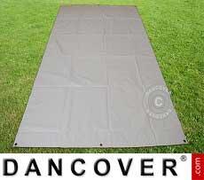 Pavimento per tende 3,7x8,6m PVC Grigio