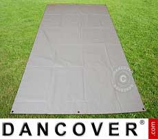 Copertura terreno, 4,5x8,5m PVC, grigio