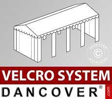 Copertura del tetto in Velcro per il tendone SEMI PRO Plus 5x8m, Bianco
