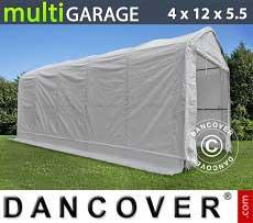 Tenda magazzino multiGarage 4x12x4,5x5,5m, Bianco