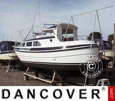 Un telaio per la copertura della barca, NOA, 6m