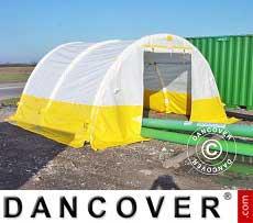 Flexshelter + Tenda gonfiabile ad arco, PRO 6,0x4,0m