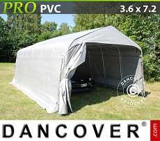 Tenda garage PRO 3,6x7,2x2,68m PVC