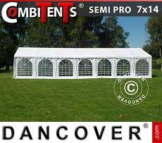 Tendone per feste, SEMI PRO Plus CombiTents® 7x14m 5 in 1