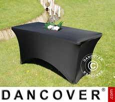 Copri-tavolo elasticizzato, 150x72x74cm, Nero