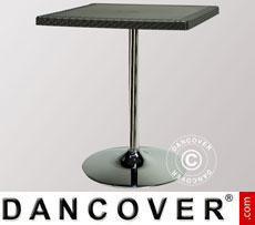 Tavolo Liù quadrato Antracite