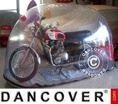 Bike Bubble 3,2x0,9 m Trasparente, Interno