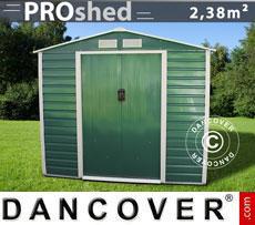 Casette da giardino 2,13x1,27x1,90m ProShed, Verde
