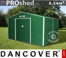 Casetta da giardino 2,77x2,55x1,98m ProShed, Verde