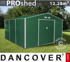 Casetta da giardino 3,4x3,82x2,05m ProShed, Verde