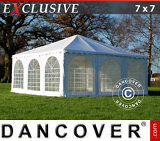 Tendone per feste Pagoda Exclusive 7x7m PVC, Bianco