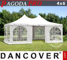 Tendone per feste Pagoda PRO 4x6m, PVC