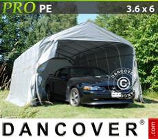 Capannone tenda PRO 3,6x6x2,68m PE,