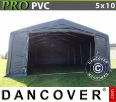 Capannone tenda PRO 5x10x2x2,9m, PVC