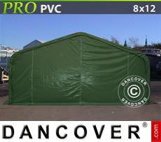 Capannone tenda PRO 8x12x4,4m PVC, Verde
