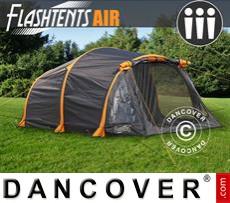 Tenda da campeggio FlashTents® Air, 3 persone, Arancione/Grigio scuro