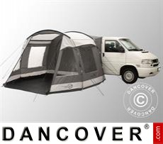 Tenda veranda per camper e van Easy Camp, Shamrock, Grigio