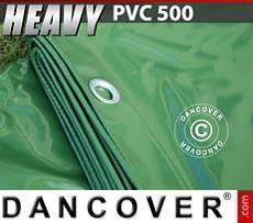 Telo 8x10m PVC 500 g/m² Verde