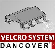 Copertura per il tetto del Tendone per Feste UNICO, PVC/Poliestere, 4x6m, Grigio…