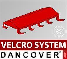 Copertura per il tetto del Tendone per Feste UNICO, PVC/Poliestere, 5x8m, Rosso…