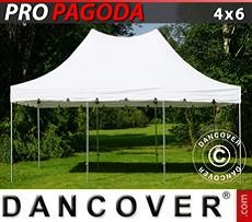 Tendoni Gazebi Party PRO Peak Pagoda 4x6m Bianco