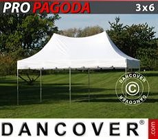 Tendoni Gazebi Party PRO Peak Pagoda 3x6m Bianco