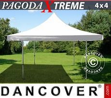 Tendoni Gazebi Party FleXtents Pagoda Xtreme 4x4m / (5x5m) Bianco