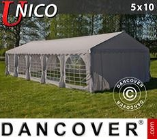 Tendoni Gazebi Party UNICO 5x10m, Beige