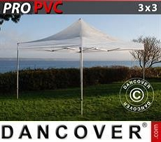 Tendoni Gazebi Party PRO 3x3m Trasparente