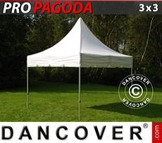 Tendoni Gazebi Party PRO Peak Pagoda 3x3m Bianco