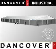 Magazzino Industriale 20x50x9,04m con portone scorrevole, PVC/Metallo, Bianco
