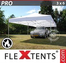 Tenda per racing PRO 3x6m Bianco, Ignifugo