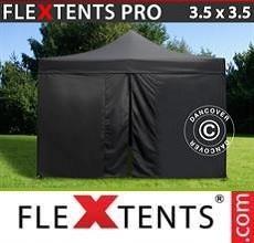 Tenda per racing  PRO 3,5x3,5m Negro, incl. 4 fianchi