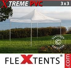 Gazebo pieghevole Xtreme 3x3m Trasparente
