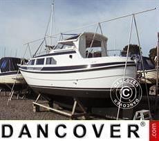 Un telaio per la copertura della barca, NOA, 5m