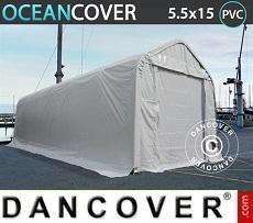 Capannone tenda Oceancover 5,5x15x4,1x5,3m, PVC