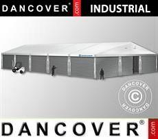 Magazzino Industriale 15x30x6,53m con portone scorrevole, PVC/Metallo, Bianco