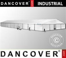Magazzino Industriale 20x50x9,04m con portone scorrevole, PVC, Bianco